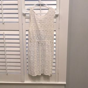 Top shop see-through lace dress